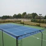 Tennis - Resurface - Lee Residence  After